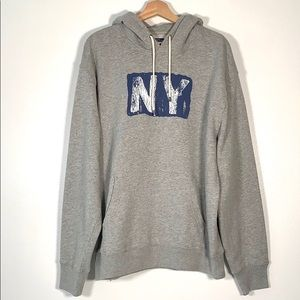 J.Crew French Terry Hoodie Large New
